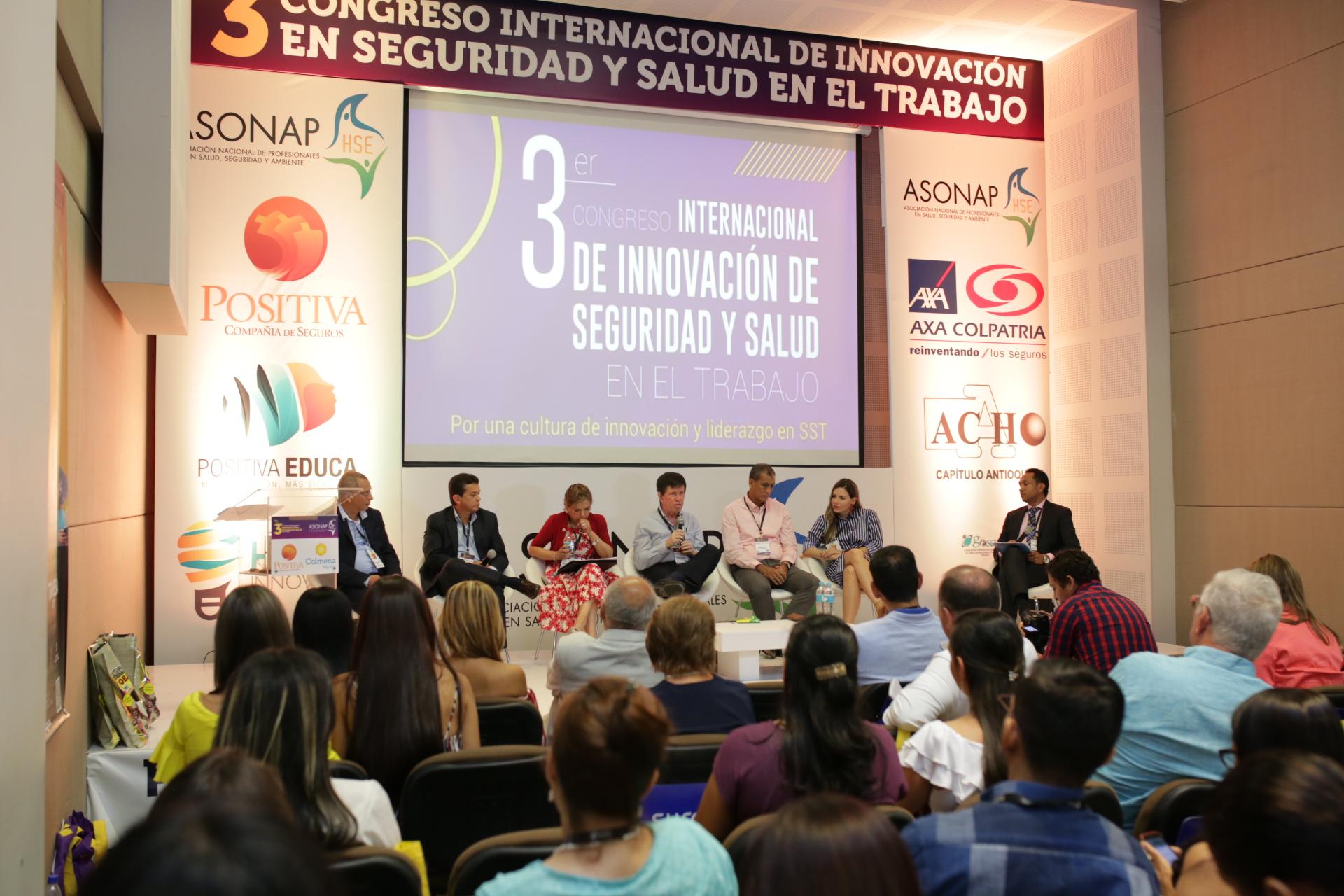 El 3er Congreso Internacional de Innovación en SST, convocó a grandes de la SST en un mismo lugar