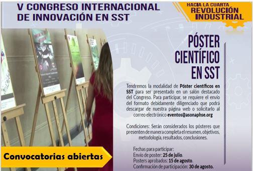 Concurso de Póster Científico en SST
