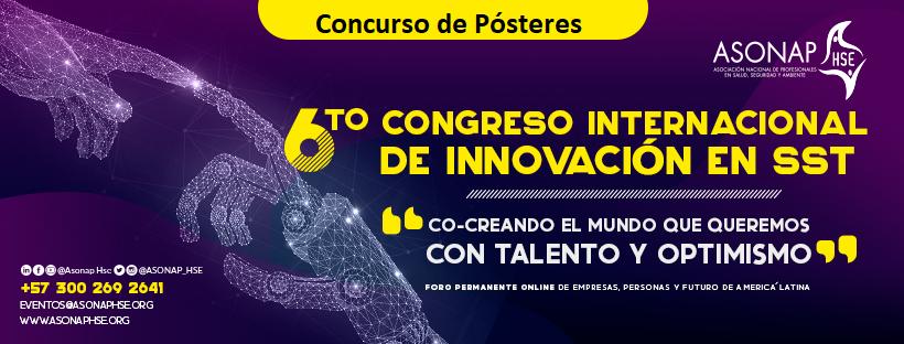 Concurso de Pósteres en el Sexto Congreso Internacional de Innovación en SST de 2020